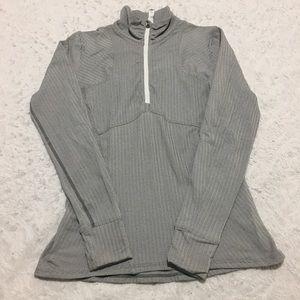 Lululemon zip up women's grey size 10